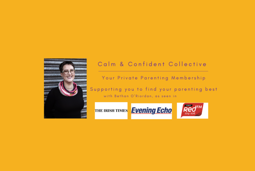 Join the Calm & Confident Collective - your private parenting membership supporting you to find your parenting best