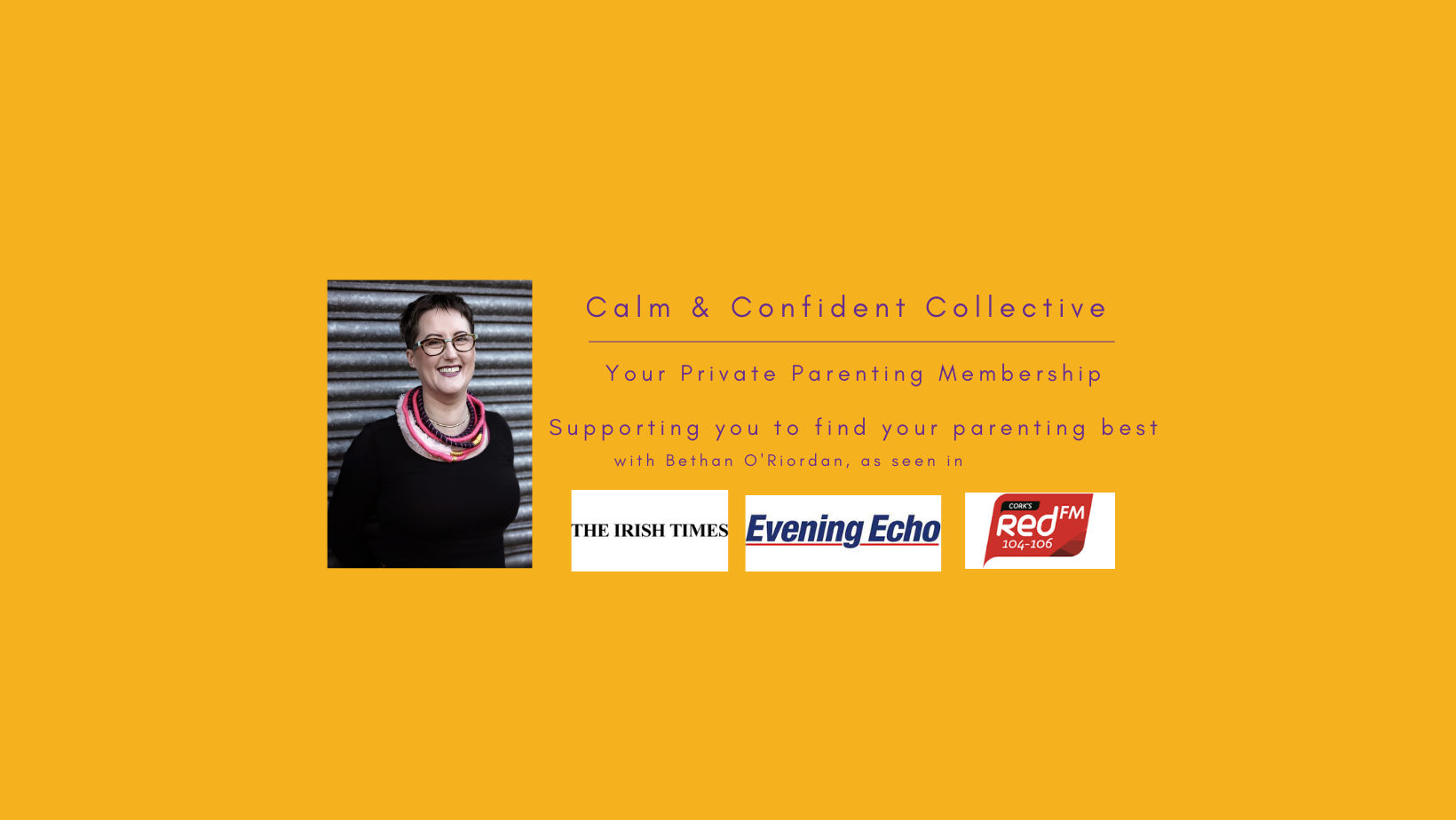 Join the Calm & Confident Collective & find your parenting best